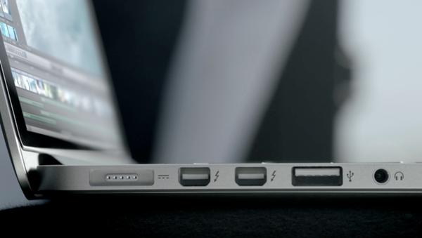 Mac USB port.
