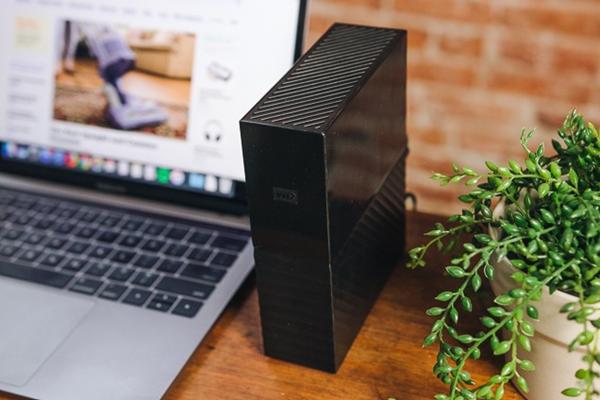 Desktop external hard drive.