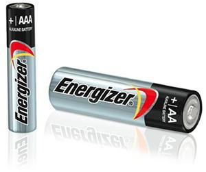 AA, AAA batteries