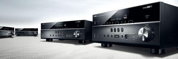 Yamaha AV Receiver lineup.