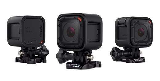 Stock photo of the GoPro HERO5 Session camera.