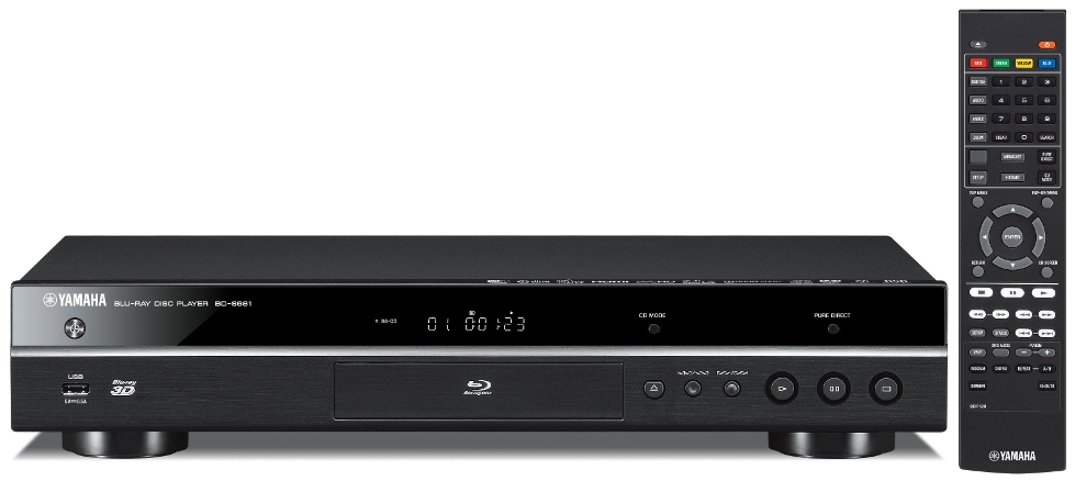 Blu-ray player with remote