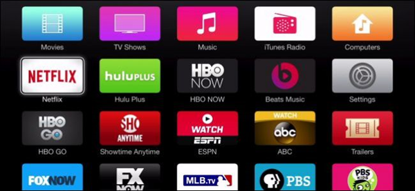 Apple TV with netflix