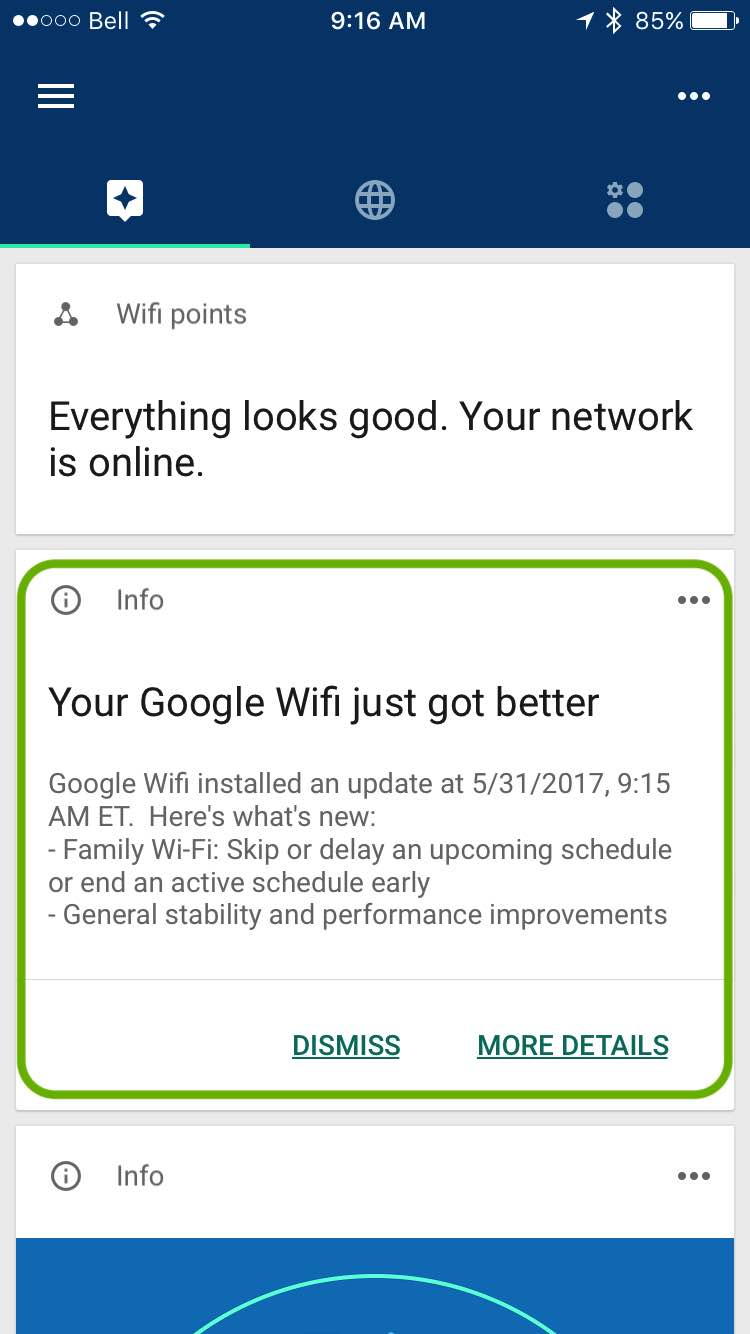 google wifi app release notes