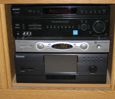 A crowded AVR system