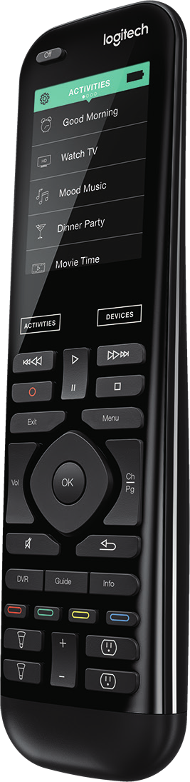 Logitech Harmony Elite Wireless Remote.