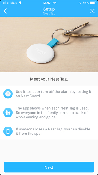Meet your Nest Tag