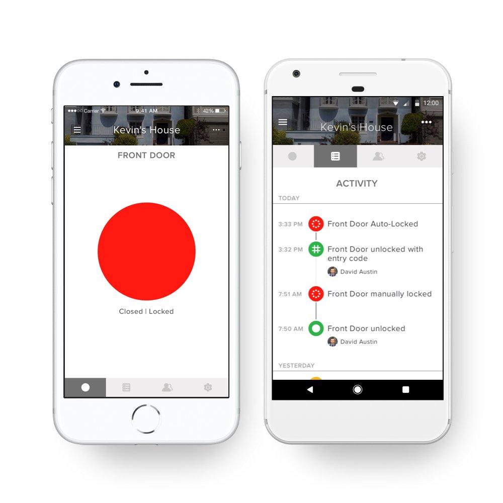 August Lock Smartphone App