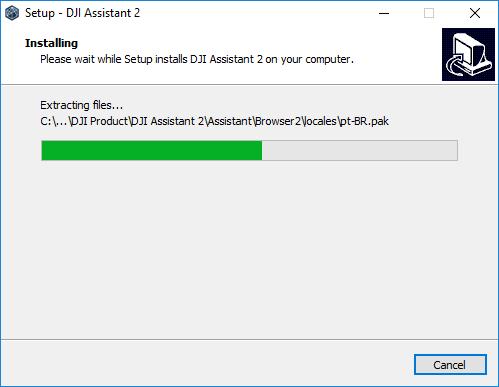 Software installing.