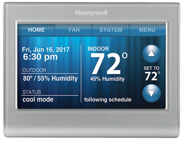 Honeywell Wi-Fi Smart Thermostat.