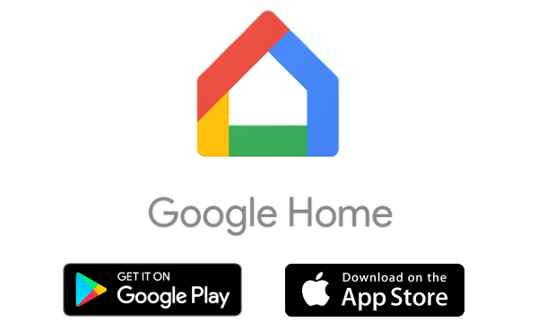 Google Home featuring mobile app choices