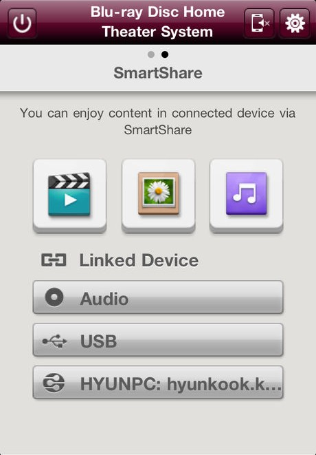 SmartShare streaming choices.