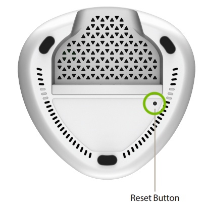 reset button on covr devices