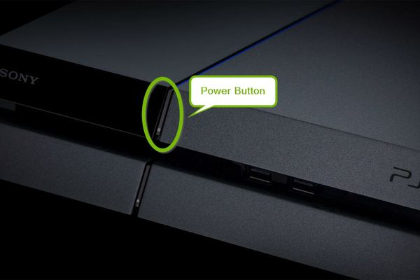 Power button.