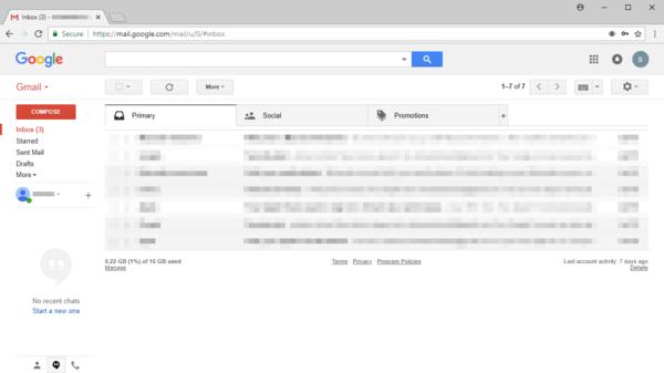 Web-based email.