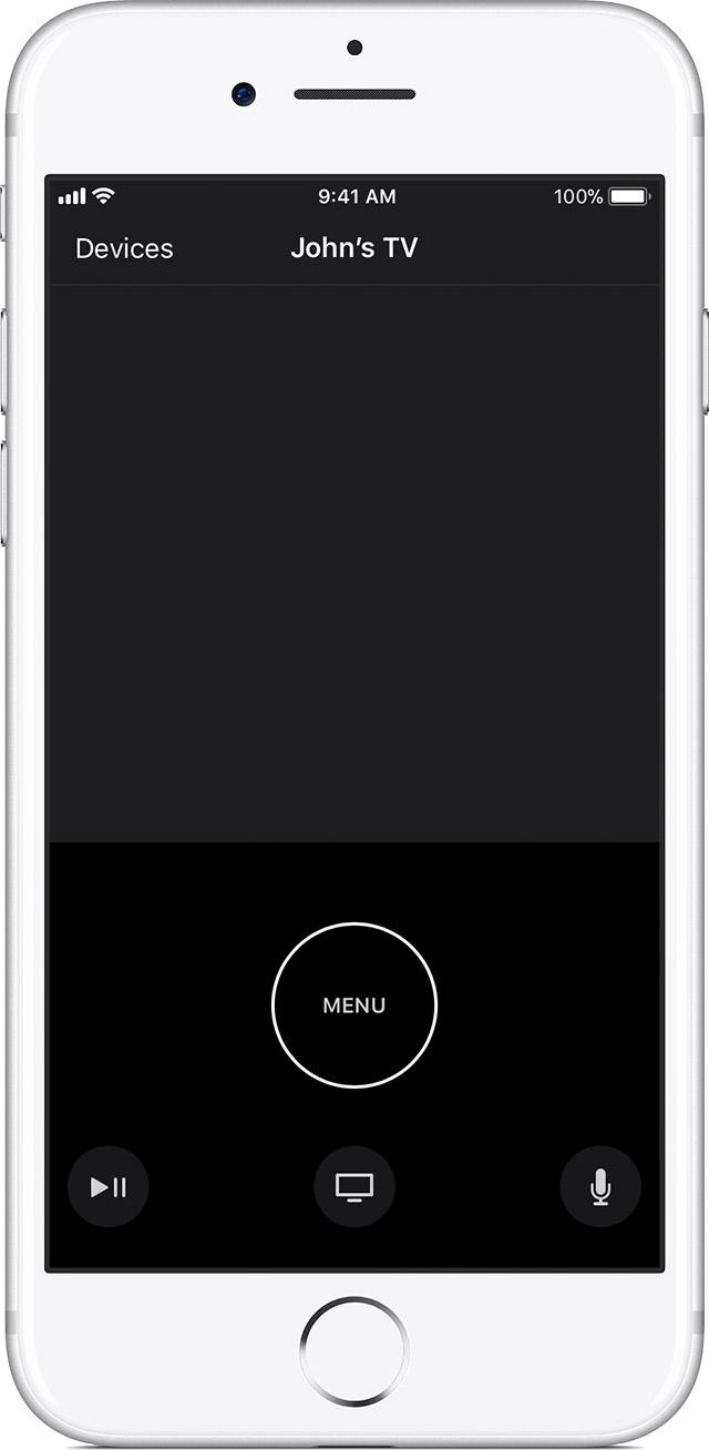 iOS Siri Remote App