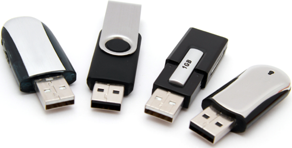 USB Thumbdrives.