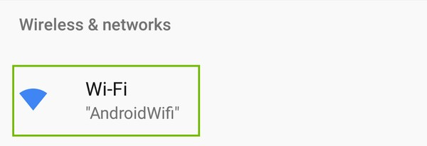 Wi-Fi highlighted