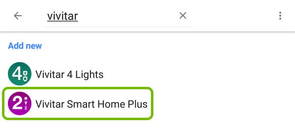 Vivitar Smart Home Plus highlighted in list of devices that work with Google Assistant.