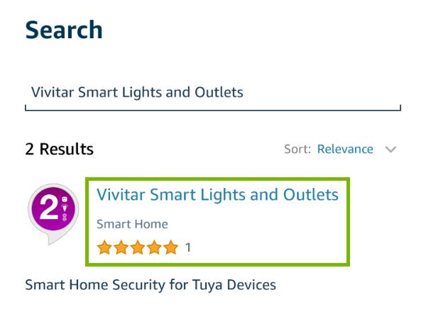 Vivitar Smart Lights and Outlets