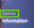 PS3 delete menu