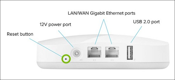 Eero router reset hole