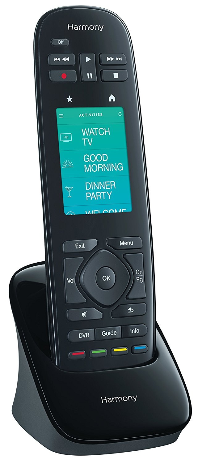 Logitech Harmony Touch charging cradle.