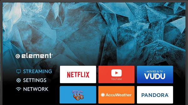 Element Smart TV Apps