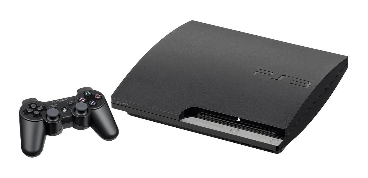 PS3 Slim model.