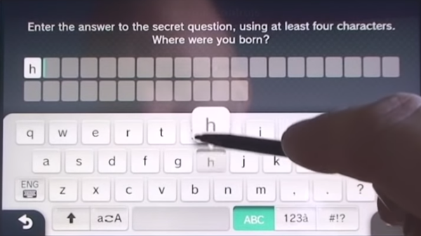 Nintendo Wii U secret answer