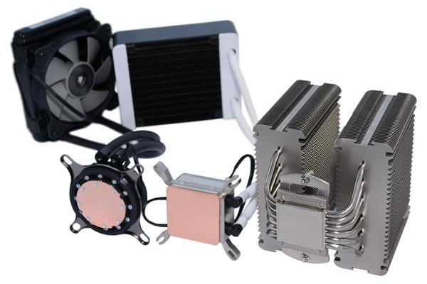 A liquid cooling kit