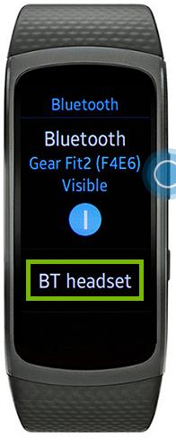 smartwatch locating bluetooth headset