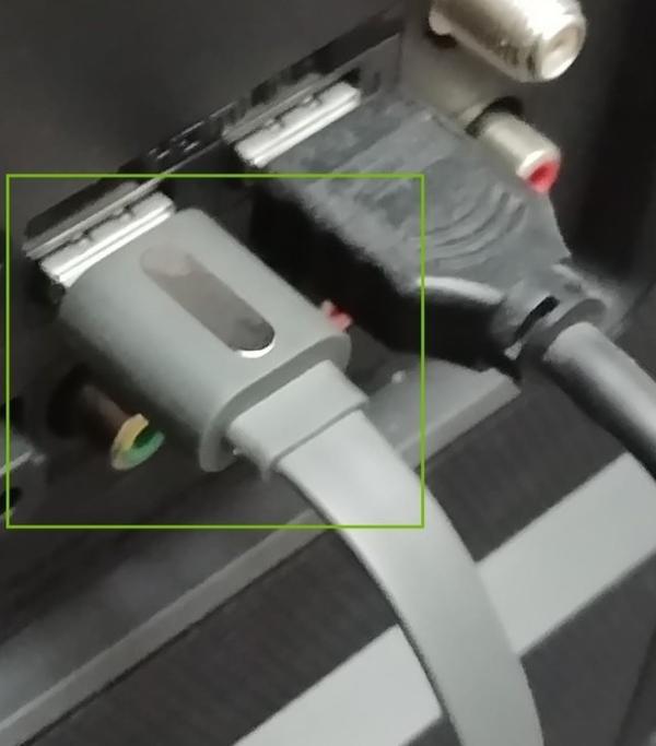 HDMI port highlighted