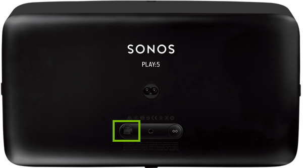 Sonos Play:5 ethernet port