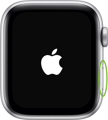 Apple watch power button