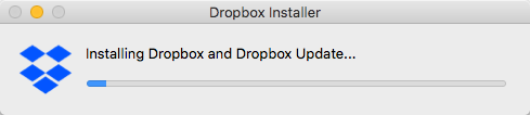 Dropbox Installing.