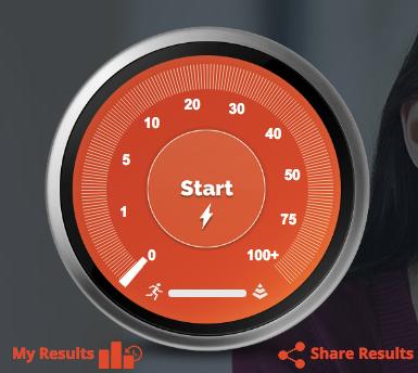 Speedtest gauge