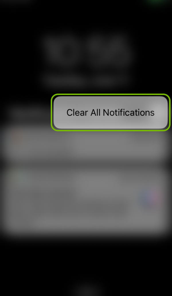 Clear All Notifications