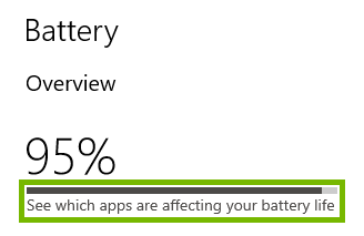See which apps are affecting your battery life