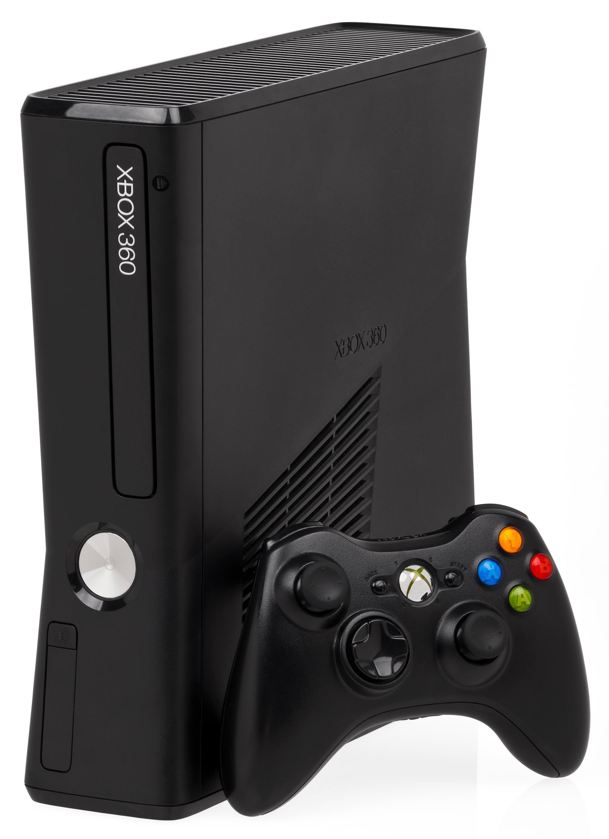Xbox 360 S console.