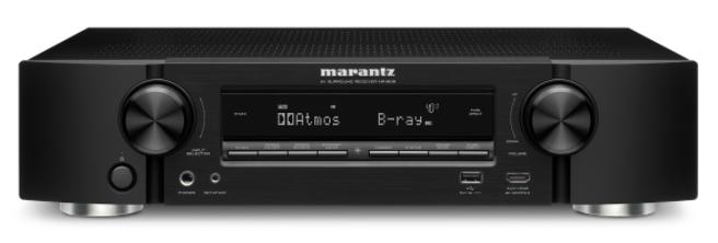 Marantz NR1608 AV receiver.