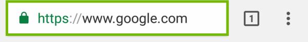 Chrome address bar.