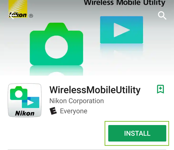 WirelessMobileUtility Google Play Store page with Install highlighted.