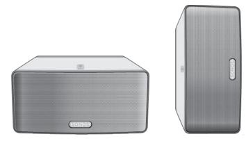 Sonos Play 3 orientations