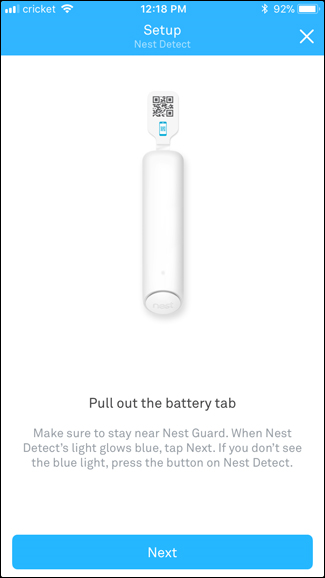 Nest Detect instructions