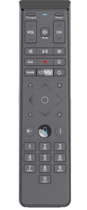 Comcast XR15 Voice Remote