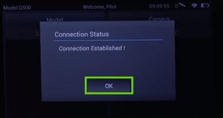 Connection established.