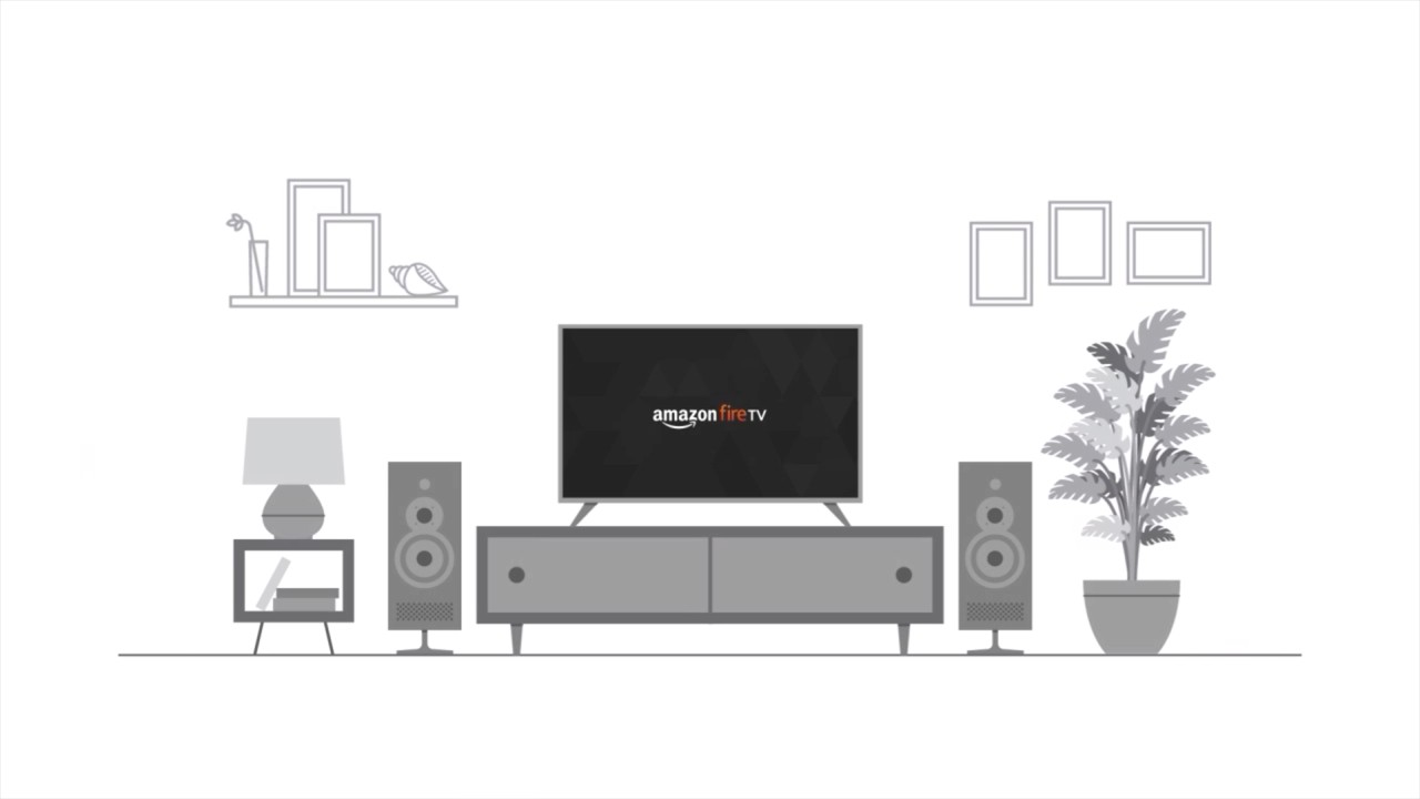Screenshot of video playing for Amazon Fire TV introduction.