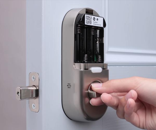 Test that your lock works - door open