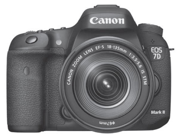 Canon EOS 7D Mark 2 camera